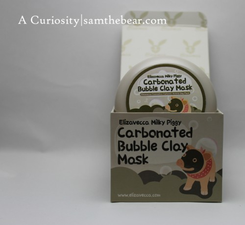 Elizavecca_Carbonated Bubble Clay Mask